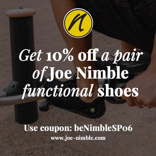 Get 10% off Joe Nimble shoes with coupon: beNimbleSP06